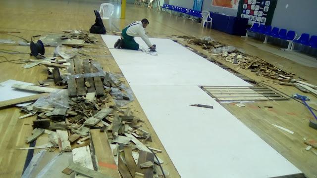 Εγκρίθηκε η προγραµµατική σύµβαση για την συντήρηση και αποκατάσταση του Κλειστού Γυµναστηρίου Αγίας Τριάδας