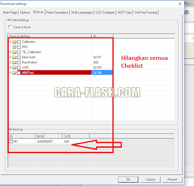 Cheklist backup researchdownload