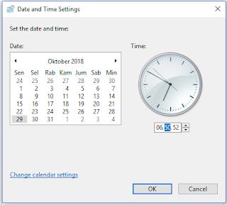 cara atur waktu dan tanggal yang tepat di windows 10