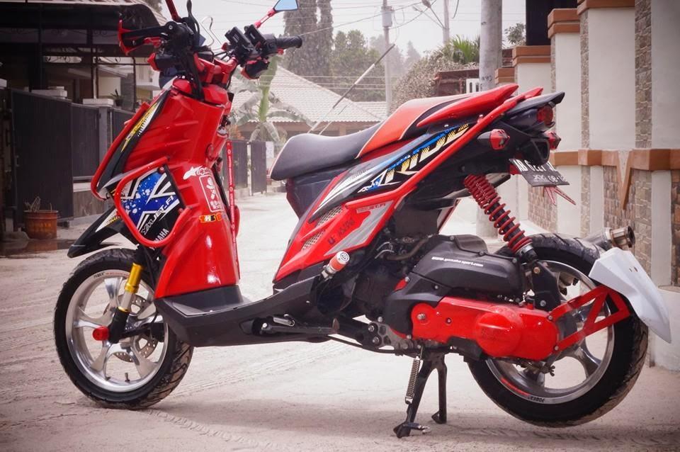 Modifikasi Motor Matic X Ride