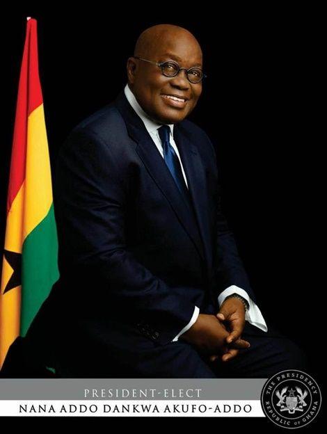 Full List of ministers designate under Nana Addo's government