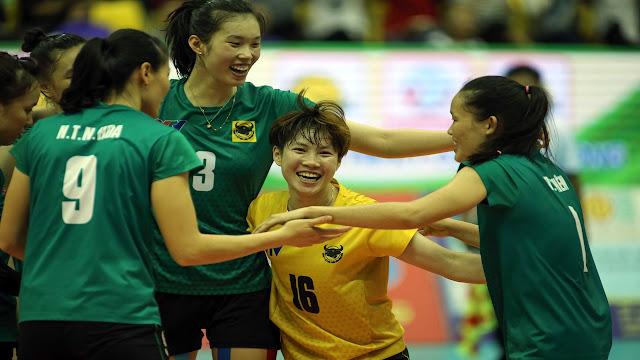 VTV Bình Điền Long An lại nhận được sự yêu mến của làng bóng chuyền quốc tế