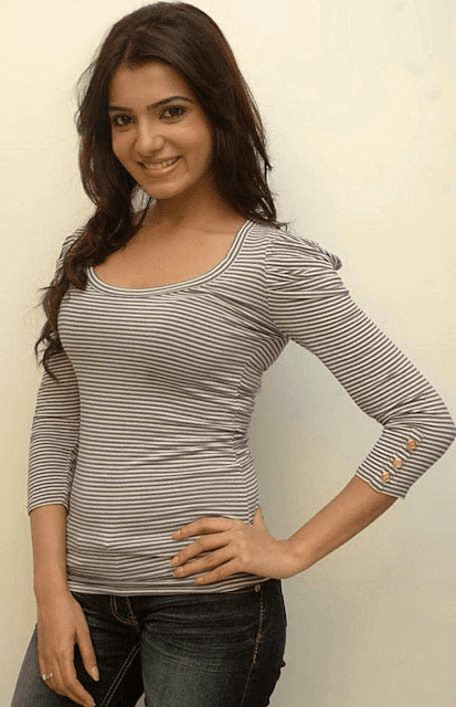 Tollywood South Indian Actress Samantha Ruth HD Wallpaper Photo Images