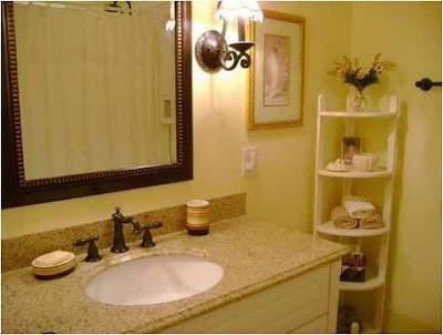 Bathroom Ideas In Yellow Elegant