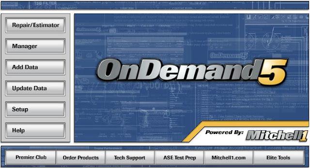 Mitchell OnDemand 5.8.0.10