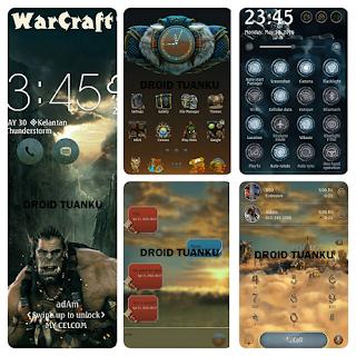 Download Tema  Warcraft untuk Asus Zenfone 3, 4, 5, 6 dan 2