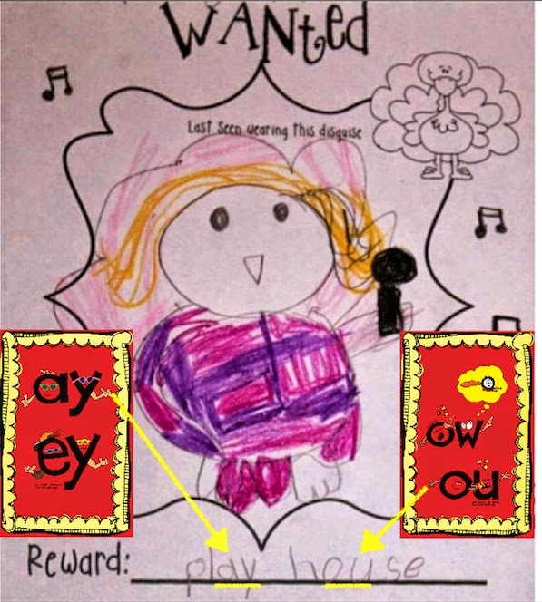 "Secret Stories® Phonics — Kindergarten Writing with ""ay/ey"" and ""ou/ow"" Secrets!"