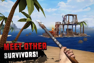 تحميل لعبة survival on raft مهكرة