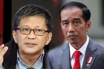 Makjlebbb! Jokowi Minta Relawannya Jangan Takut Berkelahi, Begini Kata Rocky Gerung