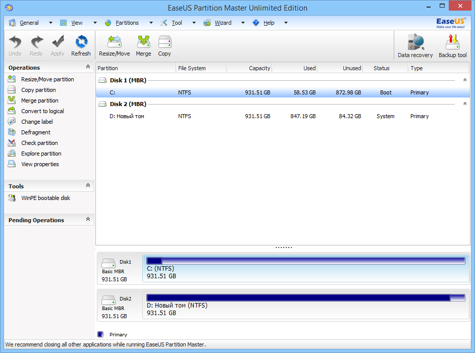 easeus partition master crack 12.5