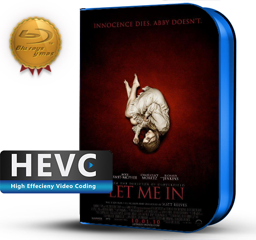 Let Me In  (2010) 1080P HEVC-8Bits BDRip Ingles (Subt.Esp)(Terror)