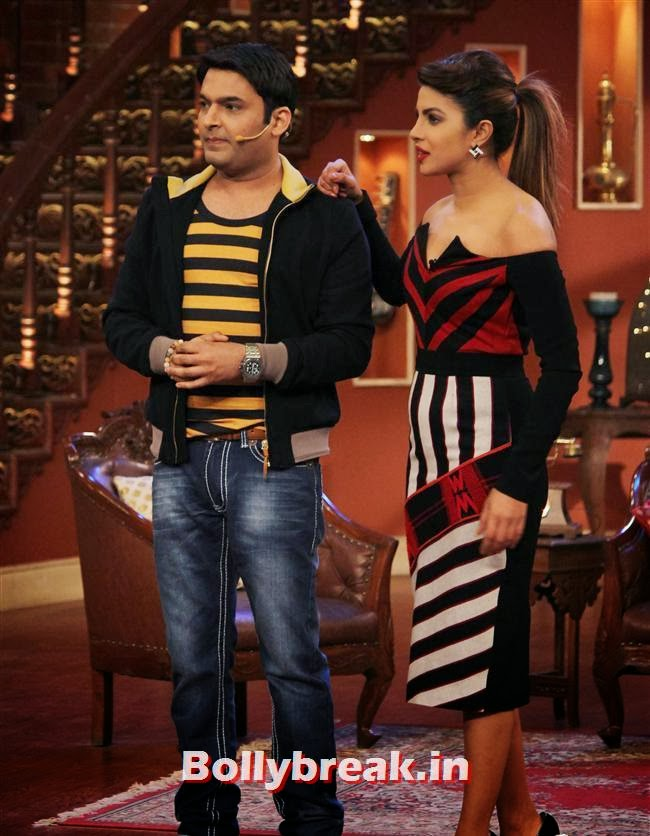 KApil Sharma and Priyanka Chopra, Gunday Promotion on Comedy Nights with Kapil