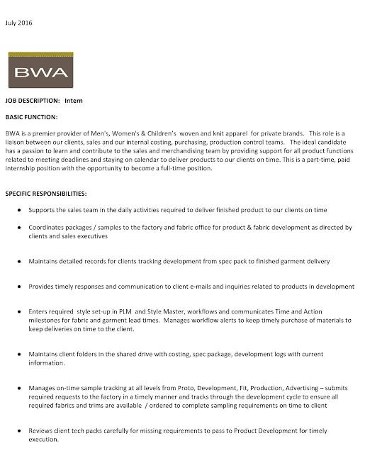 fashion model job description - Militarybralicious - Office Intern Job Description