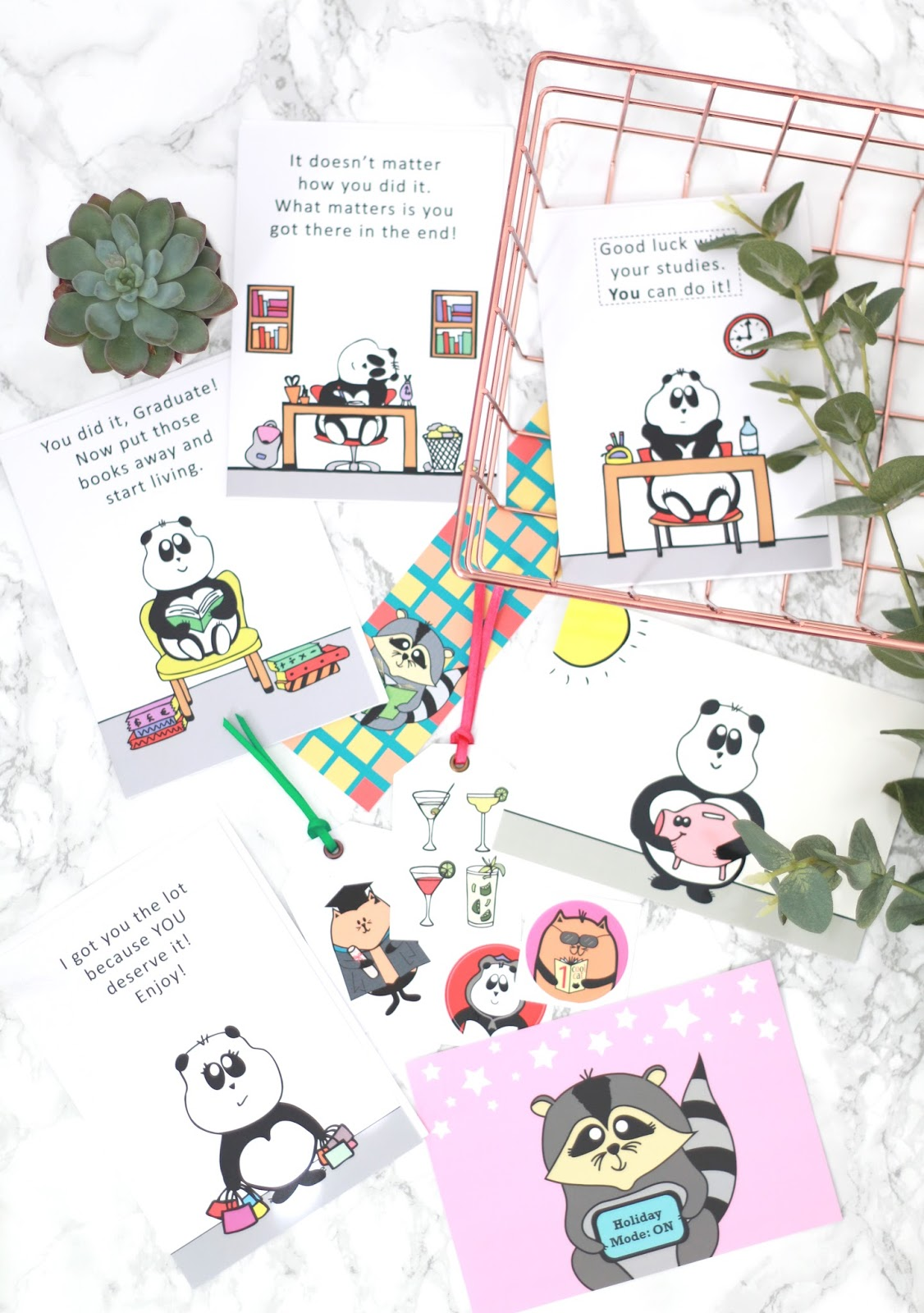 forever september, lifestyle, beauty, fashion, beauty blogger, lifestyle blogger, miska mail, australian company, panda, stationery, cards, greetings cards, postcard, stickers, bookmark, gift tags