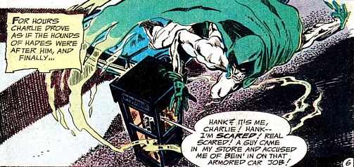 Adventure Comics #431, the Spectre, phone booth, Jim Aparo