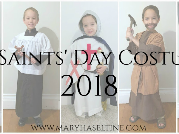 Our All Saints' Costumes and Celebration 2018