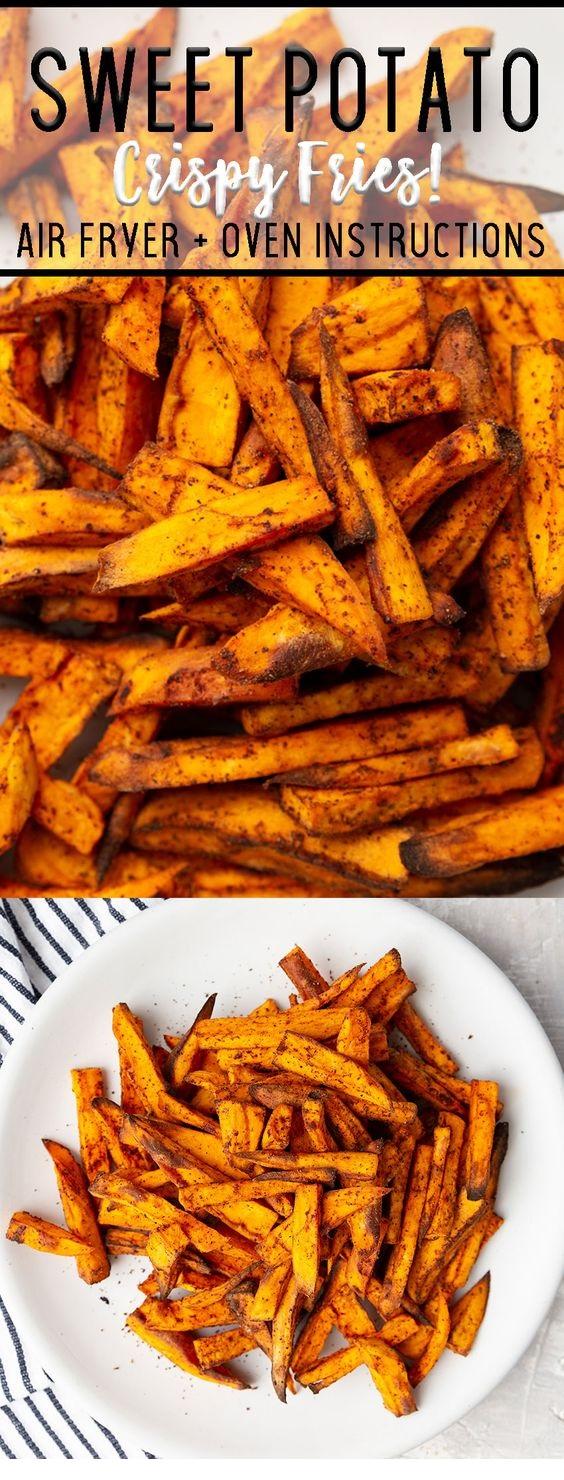 Sweet Potato Fries Air fryer
