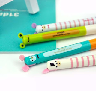 pencils, pens, and erasers at CoolPenciCase.com