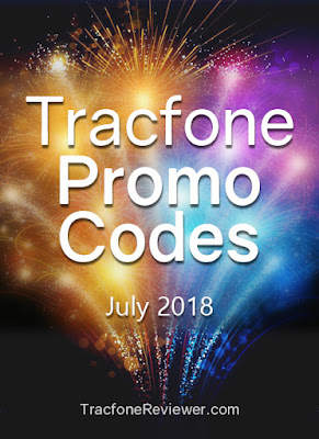 tracfone codes july 2018