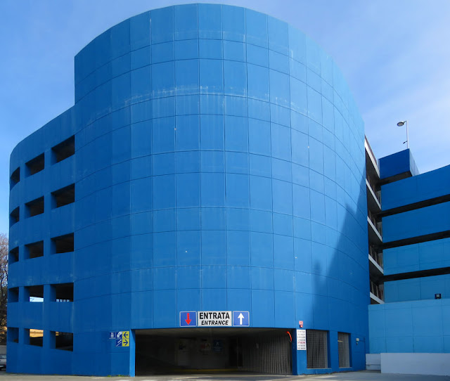 The Odeon car park, Via Sardi, Livorno