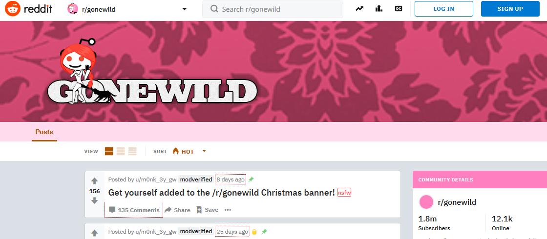 Reddit Gone Wild College