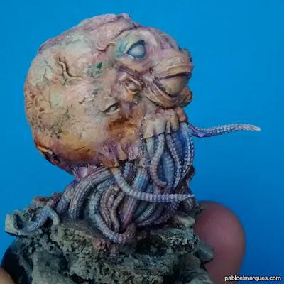 pintado miniatura 'Octopus Meat'