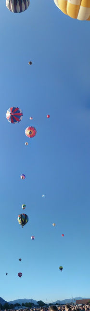 19 Balloon Up that I can capture in photo, but even more fill the sky.