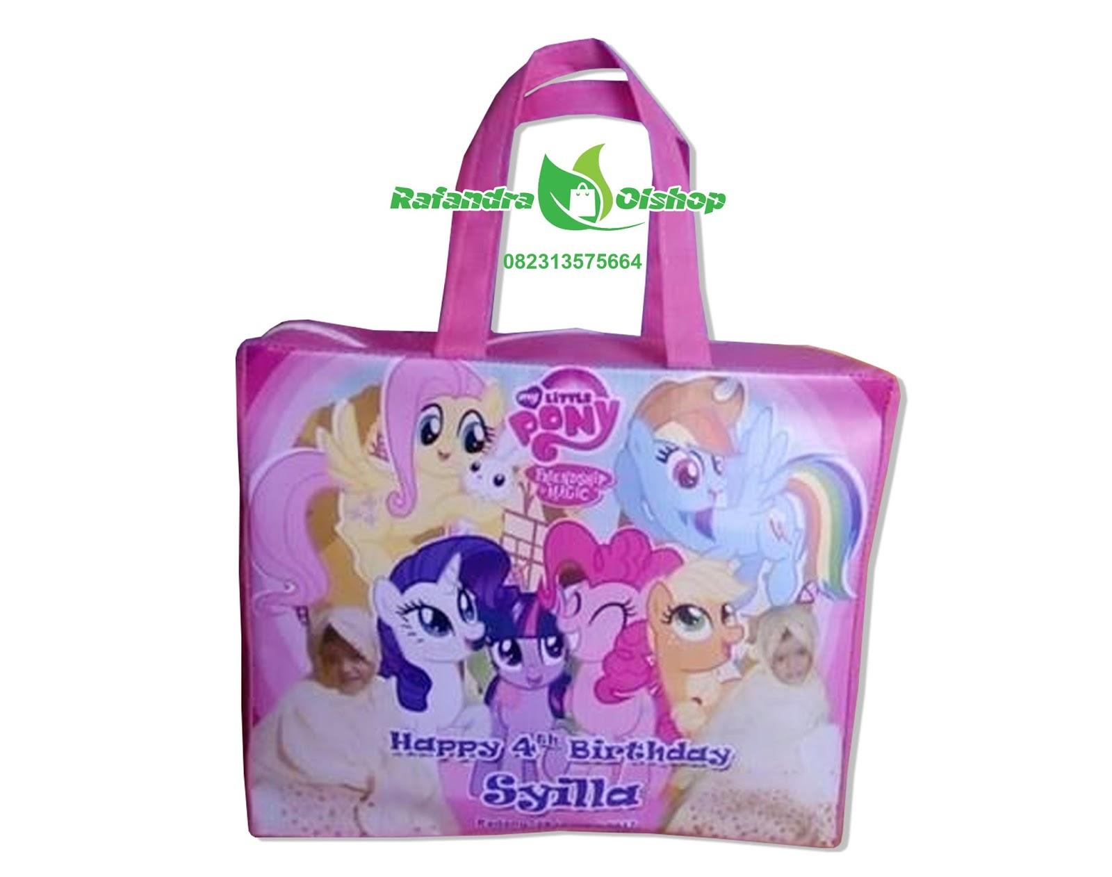 Tas Ultah Anak Karakter Little Pony