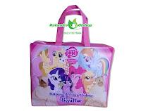 tas ultah anak, tas ultah little pony, tas souvenir ultah little pony, tas ulang tahun little pony