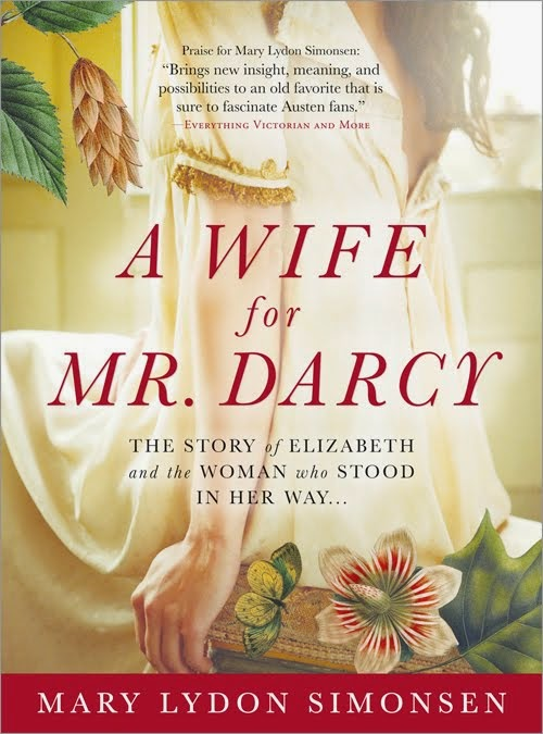 Book cover: A Wife for Mr Darcy by Mary Lydon Simonsen