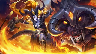 Download Script Skin Irithel - Hellfire (Mobile Legend)