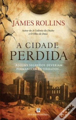 #Livros - A Cidade Perdida, de James Rollins