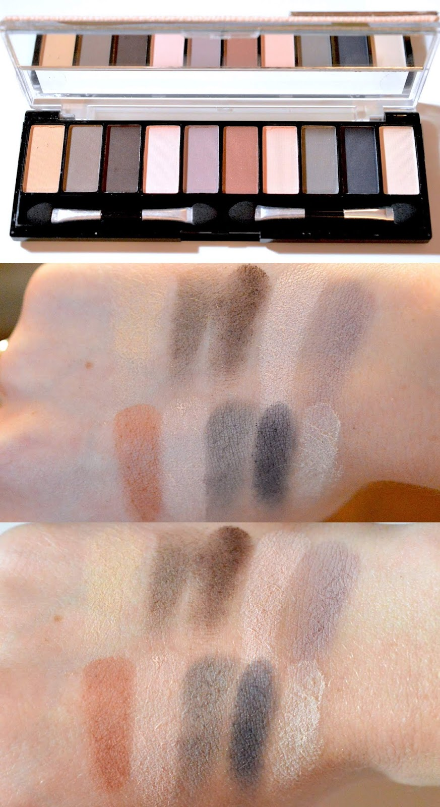 Hard Candy Top 10 Eye Palette Birthday Suit