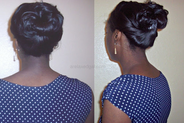 I'm trying a new hair stylist for my first relaxer touch up of 2015 after 16 weeks of relaxer stretching. | arelaxedgal.com