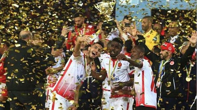 نتيجة مباراة الوداد المغربي ومازيمبي الكونغولي اليوم السبت 24-2-2018 في كأس السوبر الإفريقي