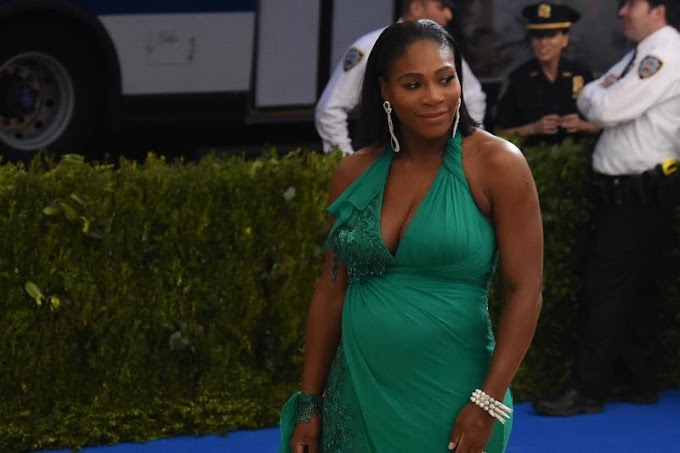 Serena Williams' pregnancy update: 'I no longer have ankles'