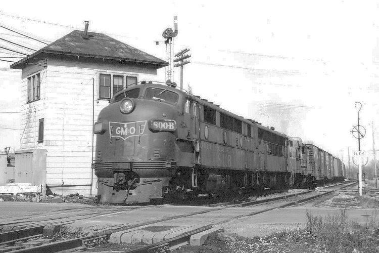 9DD001 RP 1941/2000s CHICAGO SPRINGFIELD ST LOUIS RAILROAD