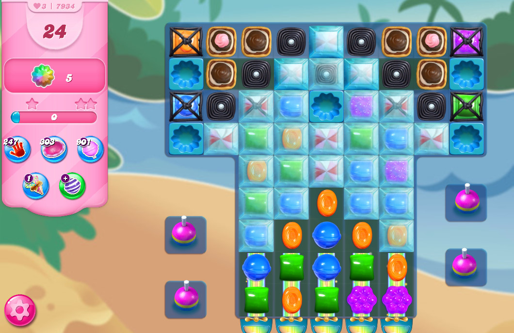Candy Crush Saga level 7934