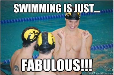 Swimming is just fabulous