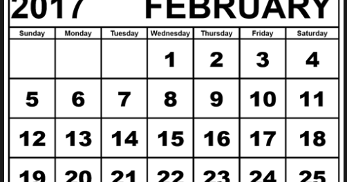 FREEISMYLIFE February 2017 Calendar - All the February FREE in 1 List