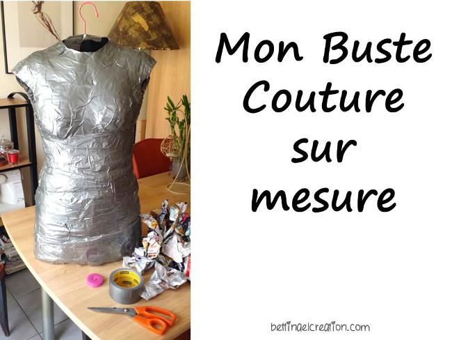 Diy mon mannequin de couture sur mesure bettinael passion couture made in france - Buste de couture ikea ...