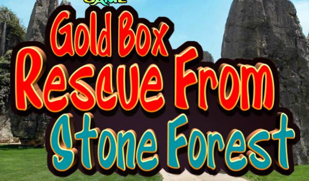 KnfGame Gold Box Rescue From Stone Forest