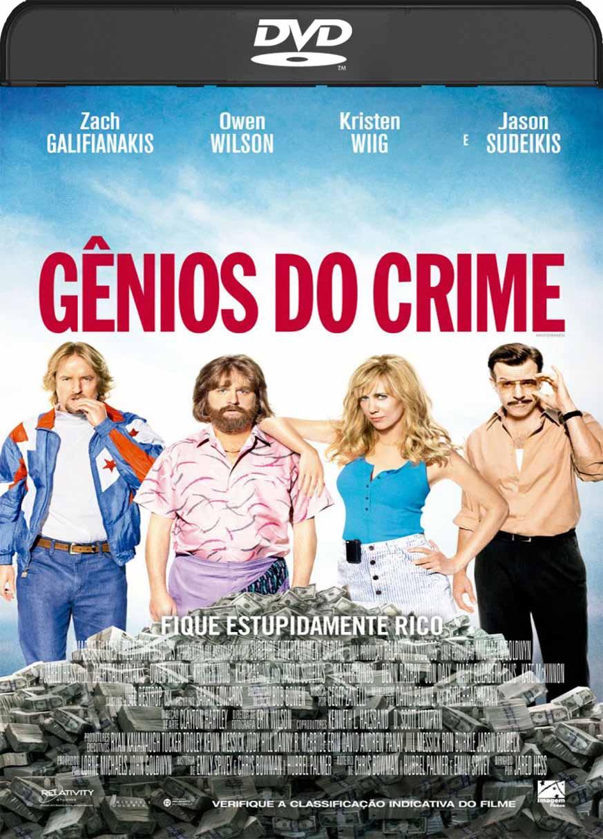 Gênios do Crime  (2016) DVD-R Oficial