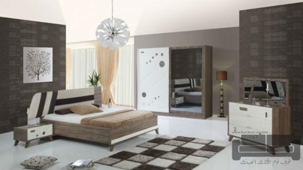 غرف نوم تركية كاملة 2016,غرفة نوم تركية كاملة للبيع, صناعة مصرية, غرفة نوم ابيض في بني فاتح