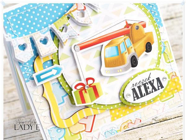 Card for 1st Birthday / Kartka na roczek
