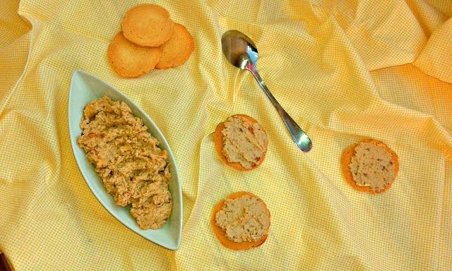 рецепт паштету для канапок