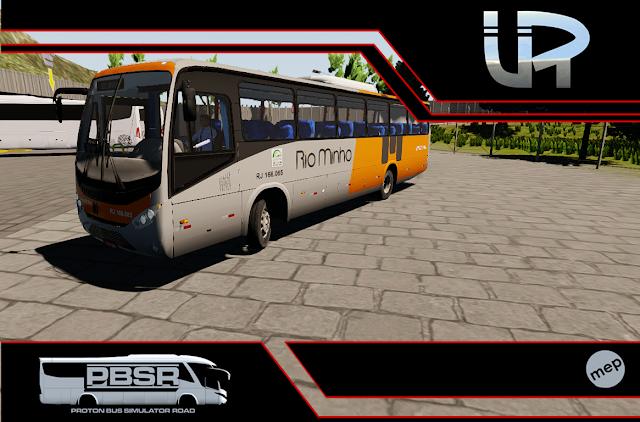 Skin Proton Bus Simulator Road - Ideale 770 OF-1721 BT5 Viação Rio Minho