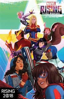 """Marvel Rising: Secret Warriors"" el próximo proyecto animado de Marvel"