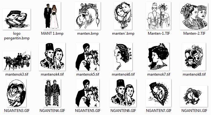 Download bingkai foto pengantin 18