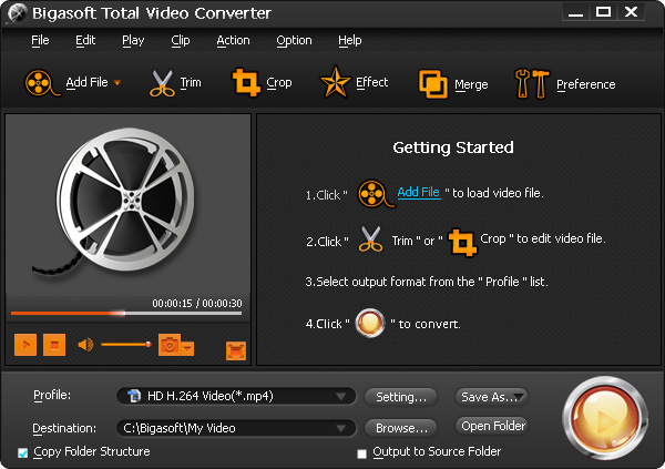 Total video converter free software